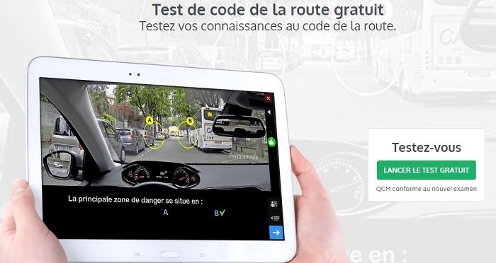 code de la route test gratuit