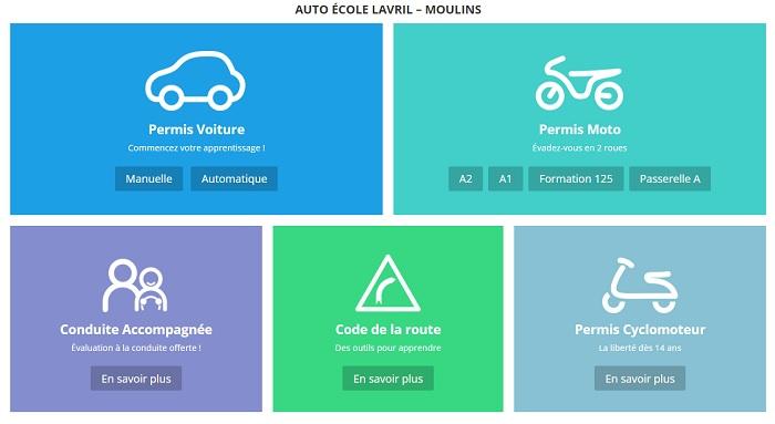 centre d'examen théorique permis de conduire Moulins